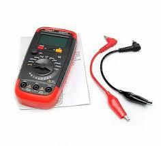 <b>HOLDPEAK DIGITAL CAPACITANCE Meter</b> Capacitor Tester ...