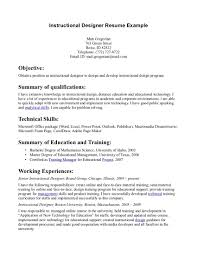 instructional design resume getessay biz sample for instructional design instructional designer example instructional designer in instructional design