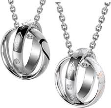 """Romantic His & Hers <b>Couples</b> """"My <b>Only Love</b>"""" """"Real Love"""" Rings ..."""