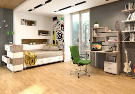 Модульная мебель для подростка Домино Белый/нельсон (<b>Мэрдэс</b>)