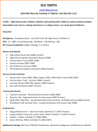 examples of high school resumes resume reference 10 examples of high school resumes