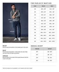 <b>Levis 502</b> Size Chart - Mens <b>502 Taper</b> Jeans