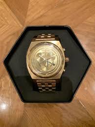Купить <b>часы Nixon Time Teller</b> CHR c-3po Gold 39mm - Star Wars ...