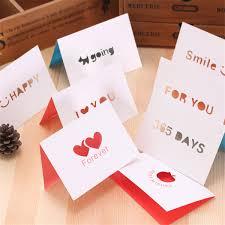 <b>10pcs</b> set Creative Hollow <b>love word</b> heart Birthday greeting card ...