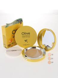 Матирующая пудра Coenzyme Q10 Olive Moisture Twoway Cake ...