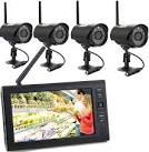 Outdoor wireless video surveillance systems