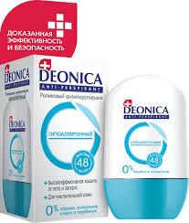 <b>Deonica Антиперспирант-ролик Гипоаллергенный</b>, <b>45</b> мл - купить ...