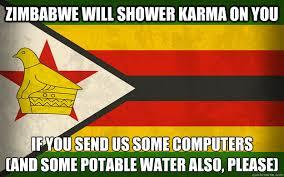 Zimbabwe memes | quickmeme via Relatably.com