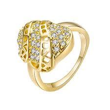 Buy Pinfect <b>Fashion</b> Women <b>Zircon Hollowed</b> Geometric Knuckle ...
