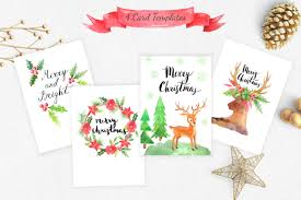 watercolor christmas design pack by lar design bundles watercolor christmas design pack example image 6