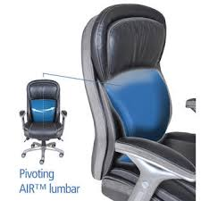 serta at home smart layers premium elite manager chair with air in bliss black bonded leather bliss office chair black