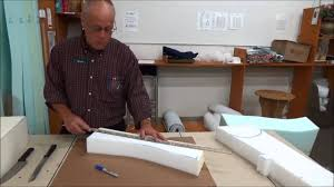 Upholstery Basics: How To <b>Cut Foam</b>...With a Bread Knife! - YouTube
