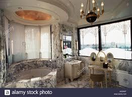 bathroom jacuzzi stock photo
