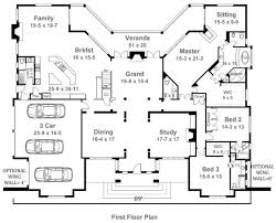 Moncreiffe House Plans   Home Plans By Archival DesignsMoncreiffe House Plan   Ranch   House First Floor Plan