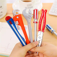 LANGING <b>6Pcs</b> Novelty Tool Pens Set Writing Ink Ballpoint Pen ...