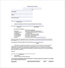 resignation letter format  word excel pdf format   in pdf is a comprehensive resignation letter that requires all the details of the teacher seeking resignation and the various reasons