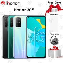 Оригинальный <b>HONOR 30S</b> 5G мобильный <b>телефон</b> 6,5 дюймов ...