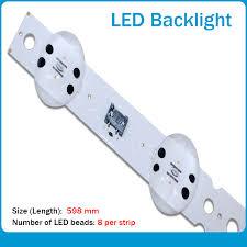 <b>New 15PCS Origina</b> 598mm LED Backlight strip 8 lamp For LG ...
