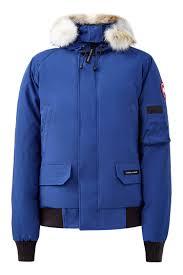 Синяя <b>куртка</b> со вставками-резинками <b>Canada Goose</b> – купить в ...