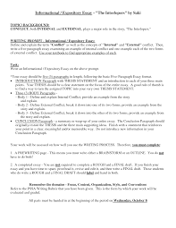 expository essay introduction example essay topics cover letter expository writing essay examples