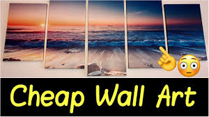 <b>Canvas Wall Art</b> for Office Wall, Living Room, Bathroom | <b>5 Piece</b> ...