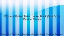 Toggi Women's Sandown Quilted <b>Jacket</b> - Black Size 12 - video ...