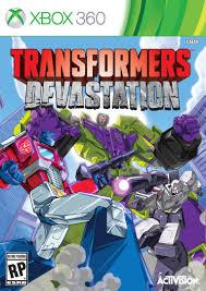 Transformers Devastation RGH Xbox 360 Español Mega Xbox Ps3 Pc Xbox360 Wii Nintendo Mac Linux