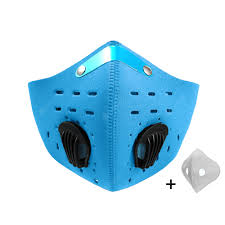 <b>Sport Face Mask Activated</b> Carbon Filter Dust Mask PM 2.5 Anti ...