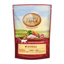 Корм для кошек <b>Nature's Table</b> Курица в соусе (для взрослых ...