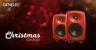 Genelec Christmas contest <b>2019</b> - Win <b>a pair</b> of G Three loudspeakers