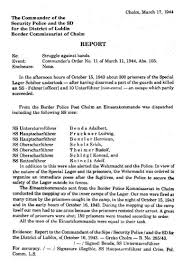 sobibor death camp org security police sd report english translation