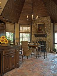 tags traditional kitchen bamboo dining  glorious rustic kitchen floor tiles design featuring grand sta