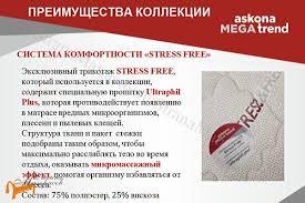 <b>Аскона</b> - <b>Матрас Megatrend Stark</b> (3 зоны) - купить в интернет ...