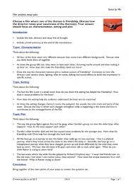 film analysis essay plan general film home page film analysis essay plan resource thumbnail