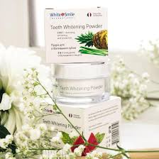 <b>Отбеливающая пудра для зубов</b> White&Smile Ананас – купить в ...