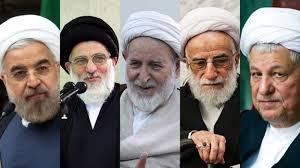Image result for عکس از رفسنجانی+روحانی+یزدی