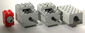 LEGO 9V <b>Technic Motors</b> compared characteristics