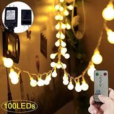 Adecorty Globe String Lights 100 LED Ball String ... - Amazon.com