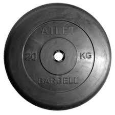 «<b>Диск</b> для штанги <b>Mb Barbell</b> ATLET d-31 20кг» — Результаты ...