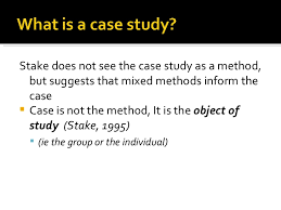 Definition of case study research methodology  The Case Study as a     The Case of the Case Study Method main image