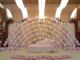 room decorating ideas birthday parties birthday stage decoration photoage net balloon decorations for parties