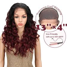 <b>Magic Hair</b> Heat Resistant <b>Hair</b> 28 Inch Synthetic Lace Front And T ...