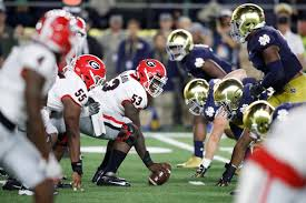 Updated Betting Line Released For Georgia-Notre Dame