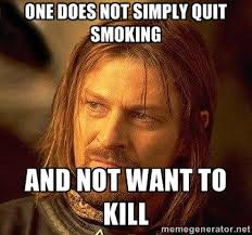 Jennifer Thomas — Quit Smoking Meme via Relatably.com