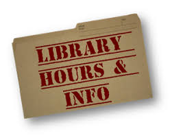 Image result for library hours