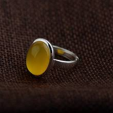 Yellow <b>Chalcedony</b> Ring <b>Sterling Silver</b> reviews – Online shopping ...