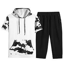 Buy Rosatro <b>Men</b> Suit <b>Sets</b> Casual, <b>Men's Summer</b> Leisure Fashion ...