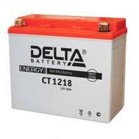 «<b>Аккумуляторная батарея Delta</b> CT 1218 (Мото АКБ ...