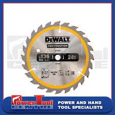 DeWalt DT1947 DT1201 <b>Circular</b> TCT Saw Blade <b>136mm</b> x 10mm ...