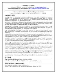 banking resume   sales   banking   lewesmrsample resume  resume template investment banking